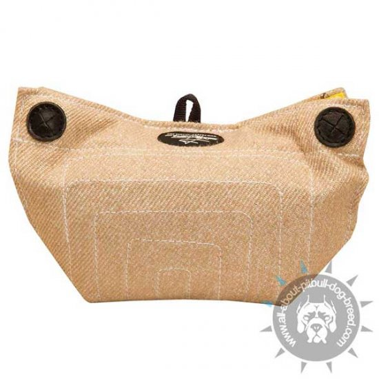 Primary Jute Puppy Bite Builder with Inside Handles