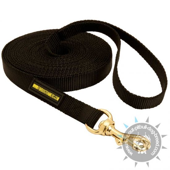 Nylon Pitbull Leash for Training and Tracking