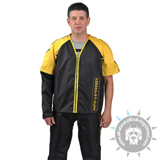 Nylon Protection Scratch Suit for Pitbull Training - Click Image to Close