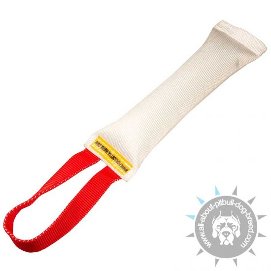 Fire Hose Pitbull Bite Tug with Handle