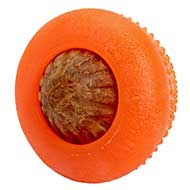 'Orange Dream' Rubber Treat Dispensing Chew Toy of Large Size