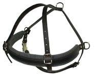 Leather Military Spec DOG Harness for Pitbull