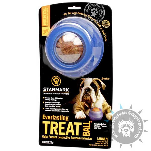 Rolling Treat Dispensing Toy - Large Size
