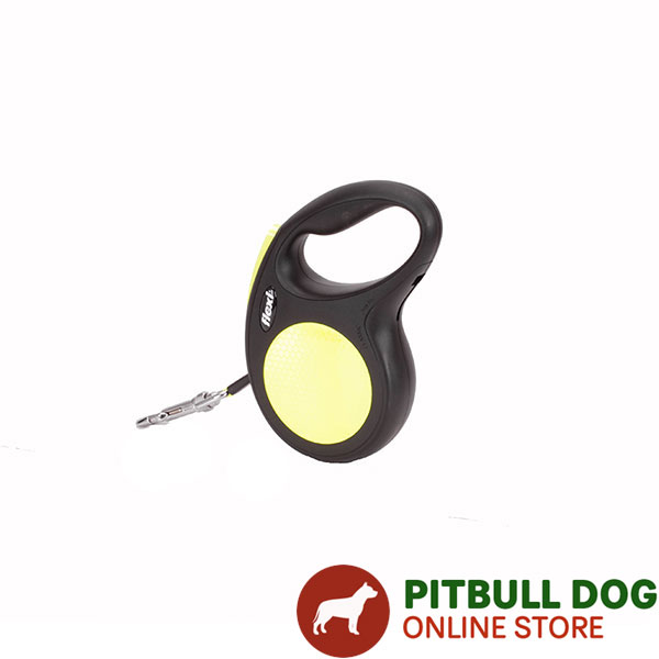 Total Comfort Retractable Leash Neon Style
