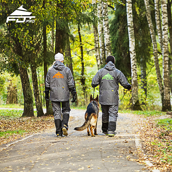 Pro Dog Training Jacket of Quality for Any Weather Conditions