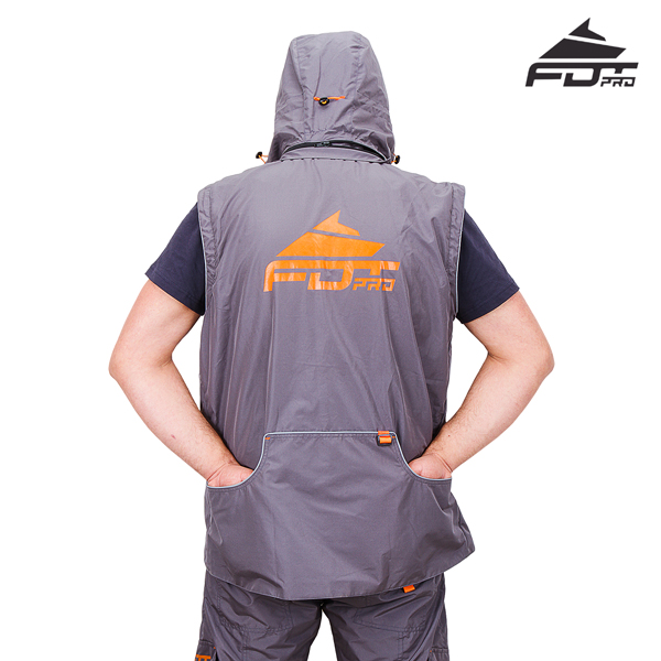 Strong Dog Trainer Suit Grey Color from FDT Wear