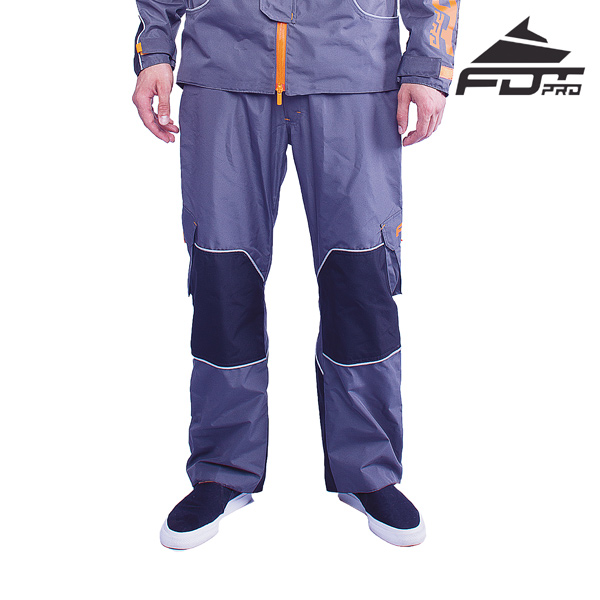 FDT Pro Pants of Grey Color for Cold Days