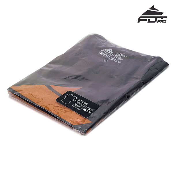 Filled Professional T-shirt Dark Grey Color