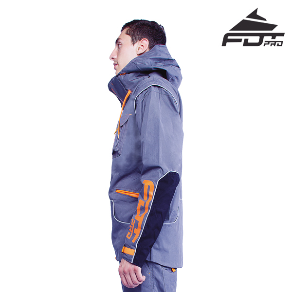 FDT Professional Dog Training Jacket of Top Quality for All Weather