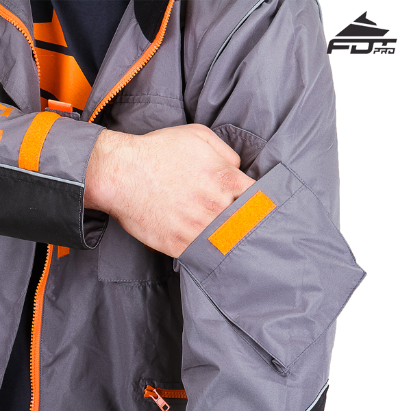 Useful Sleeve Pocket on Pro Design Dog Training Jacket