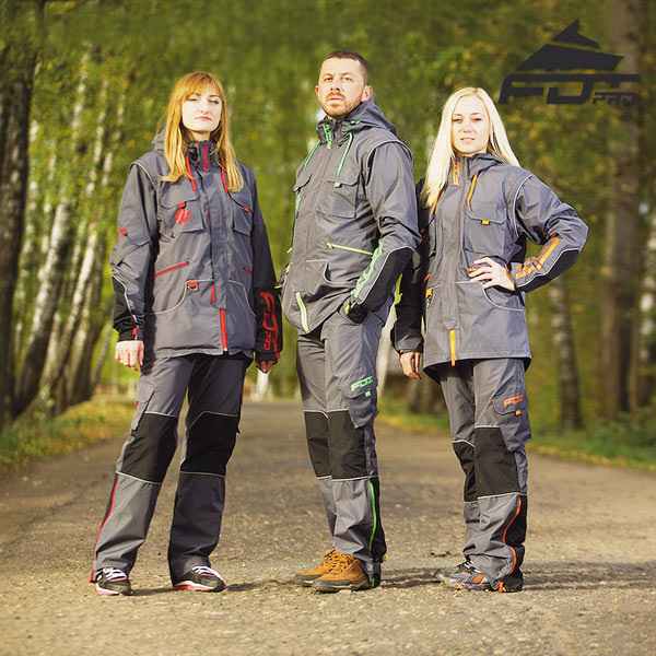 Strong Dog Training Suit for Any Weather Use