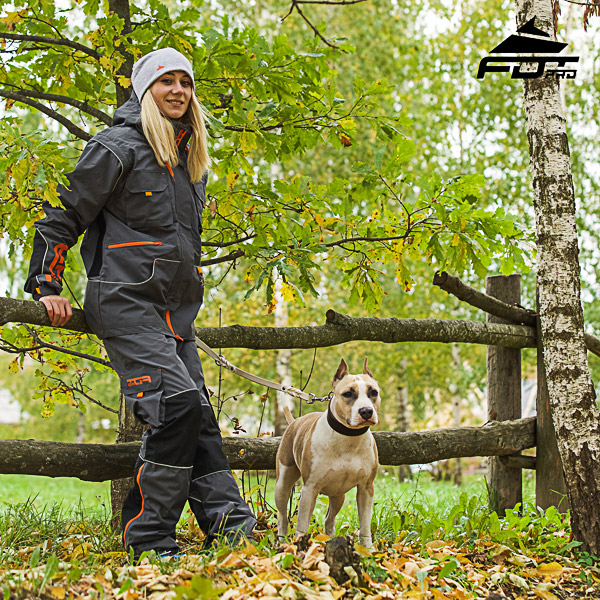 Men and Women Design Pants with Comfortable Side Pockets for Active Dog Trainers