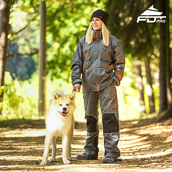 Men and Women Design Dog Training Jacket of Best Quality Materials