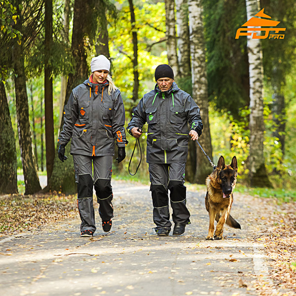 Unisex Best quality Dog Tracking Suit for Men and Women with Reflective Strap
