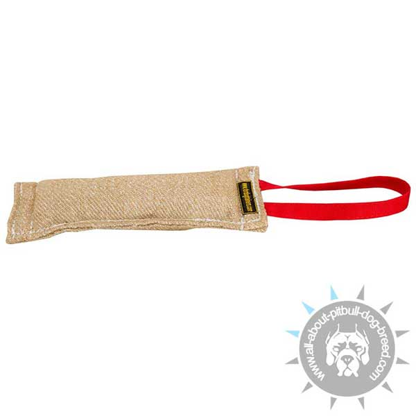 Jute Pitbull Bite Tug for Young Dogs Training
