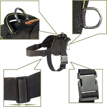 buy adjustable nylon dog harness