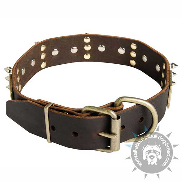 Hand crafted canine collar