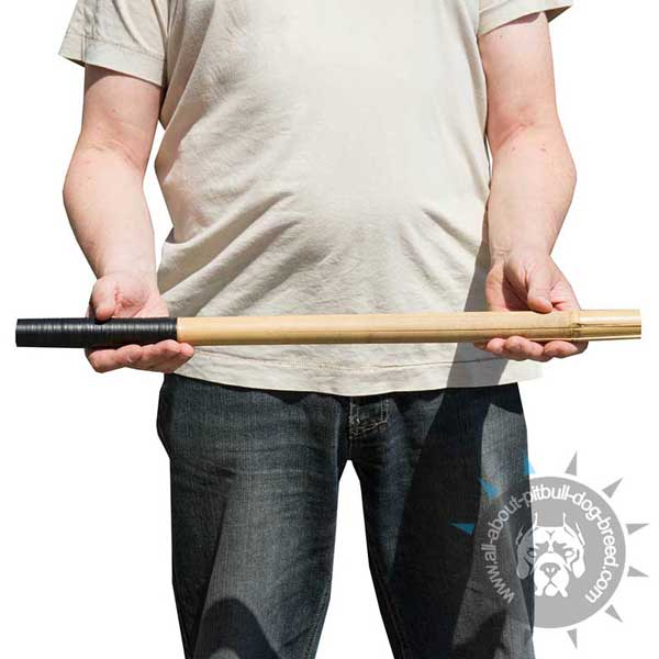 Bamboo Pitbull TRaining Stick