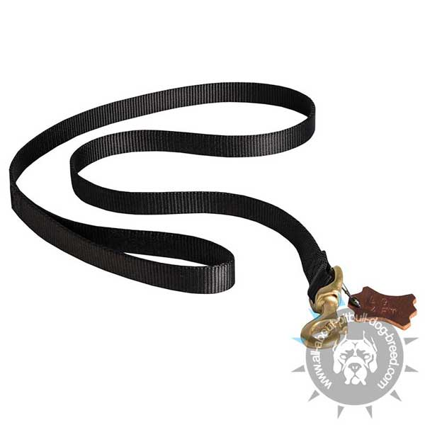 All Weather Nylon Pitbull Leash