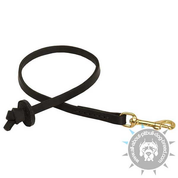 Short Pitbull Leash for Dog Training
