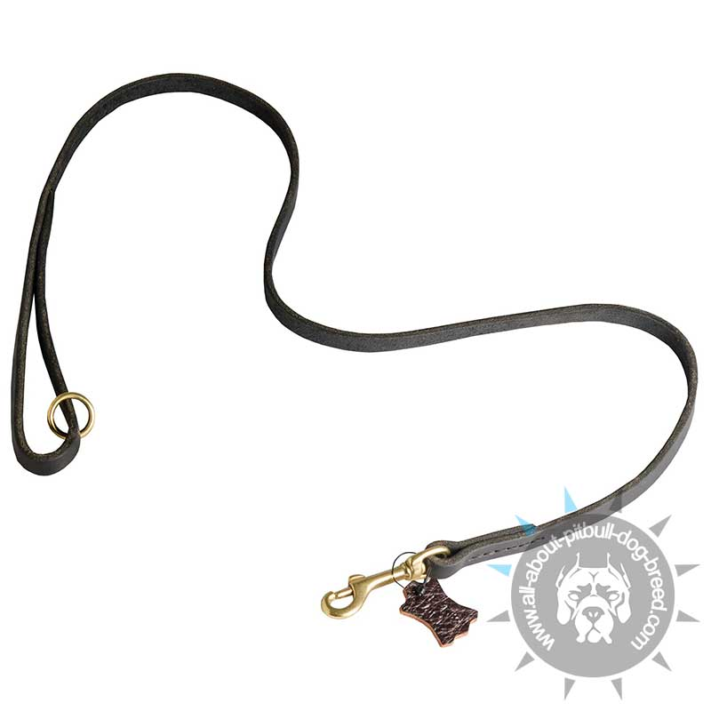 choose handcrafted leather leash