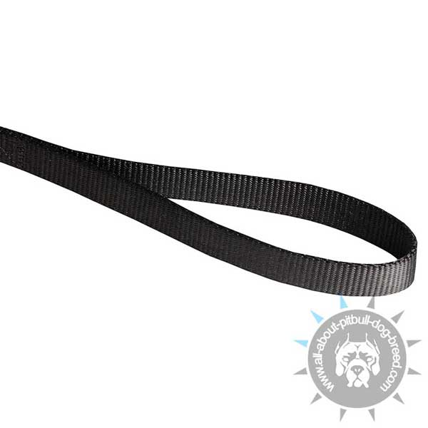Handle on Nylon Pitbull Leash