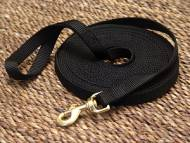 Nylon dog leash for training and tracking- 3/4'' on 13FT LEASH