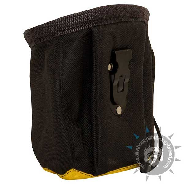 Nylon Dog Pouch for Pitbull Training