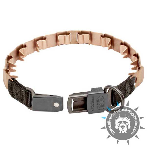 Pitbull Curogan Neck Teck Pinch Collar