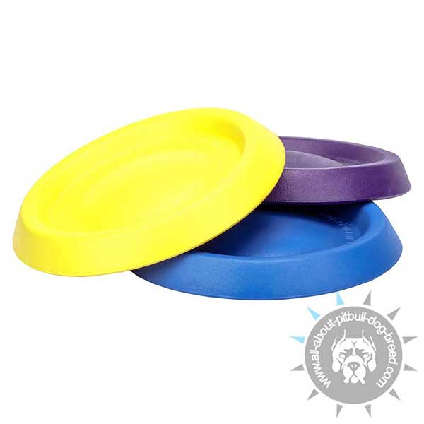 Foam Gliding Discs in bright Colors