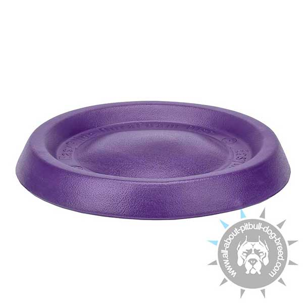 Special Rubber Flying Pitbull Disc