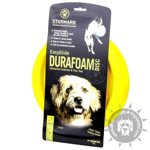 Bright Yellow Unsinkable DuraFoam Disc
