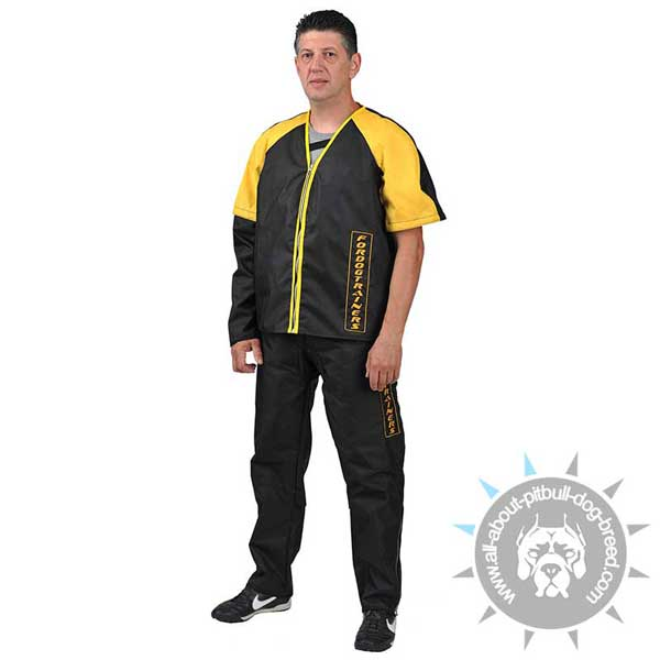 Nylon Scratch Jacket for Pitbull Training