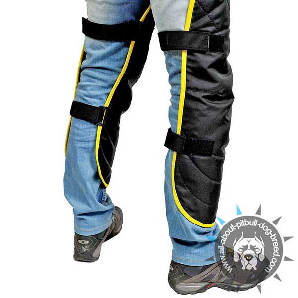 Pitbull Nylon Protection Scratch Jumpsuit with Velcros