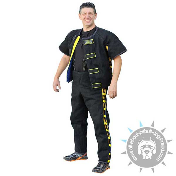 Hidden Protection Durable Bite Suit for Pro Training