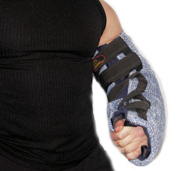 buy Training Velcro Closure Hidden Bite Suit Sleeve
