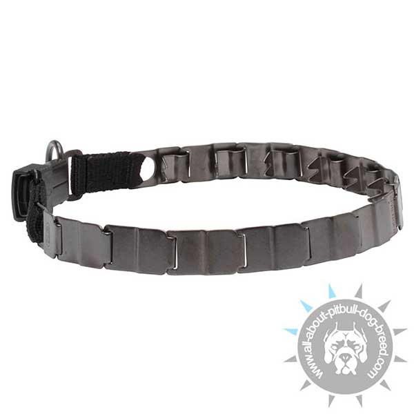 Stainless Steel Neck Tech Collar for Pitbull