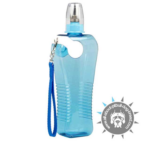 Comfy Plastic Water Bottle Easily Portable