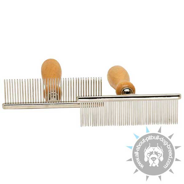 Metal Brush with Chrome Plating