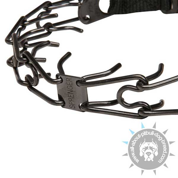 Super Durable Pitbull Pinch Collar for Hard Loads