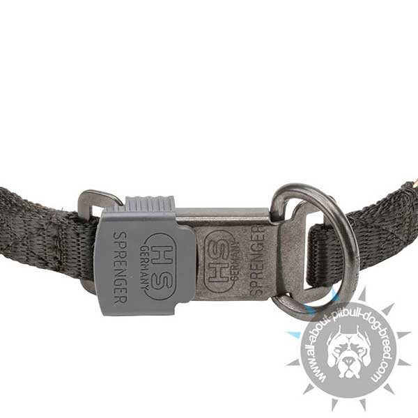 Click Lock System on Curogan Prong Collar