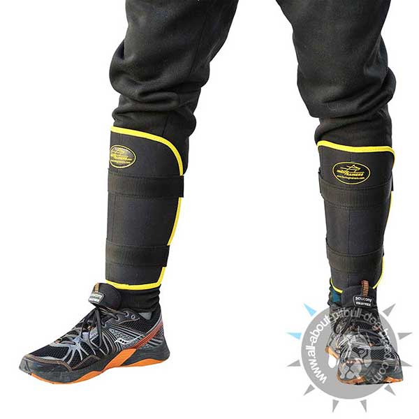 Professional Training Bite Suit with Removable Leg Protectors
