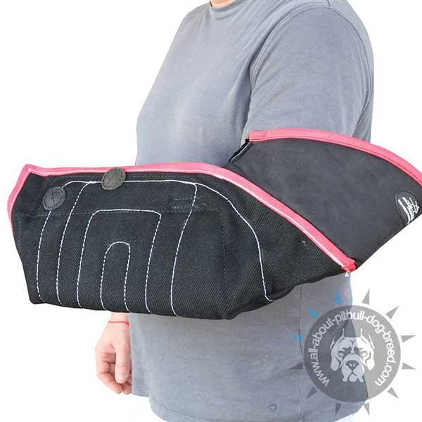 Adjustable Bite Training Sleeve with 2 Handles